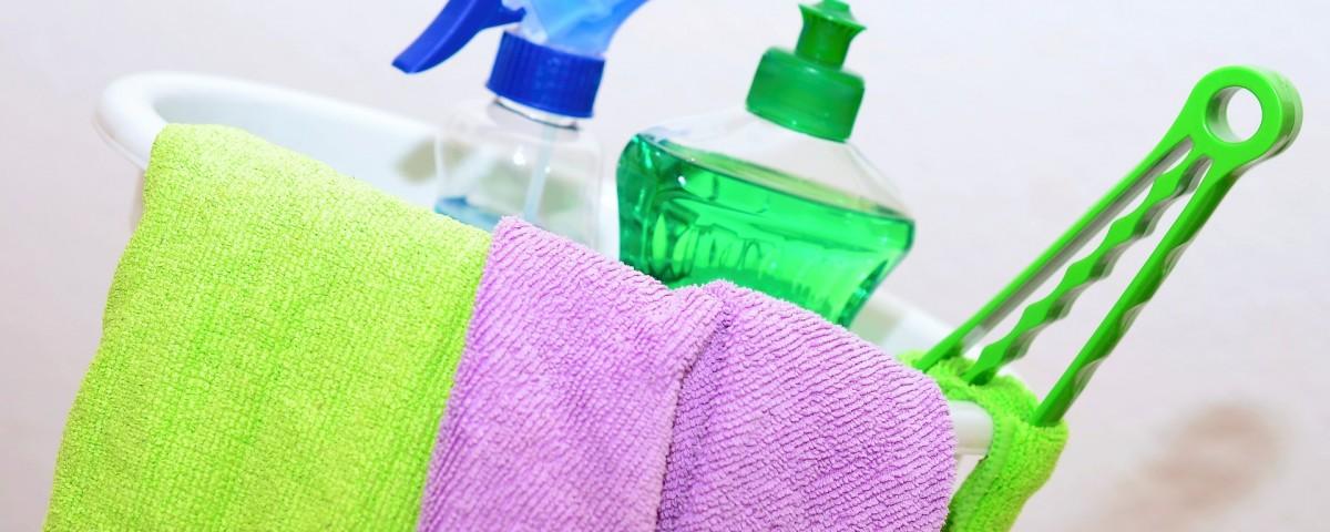 Productos de limpieza, errores comunes