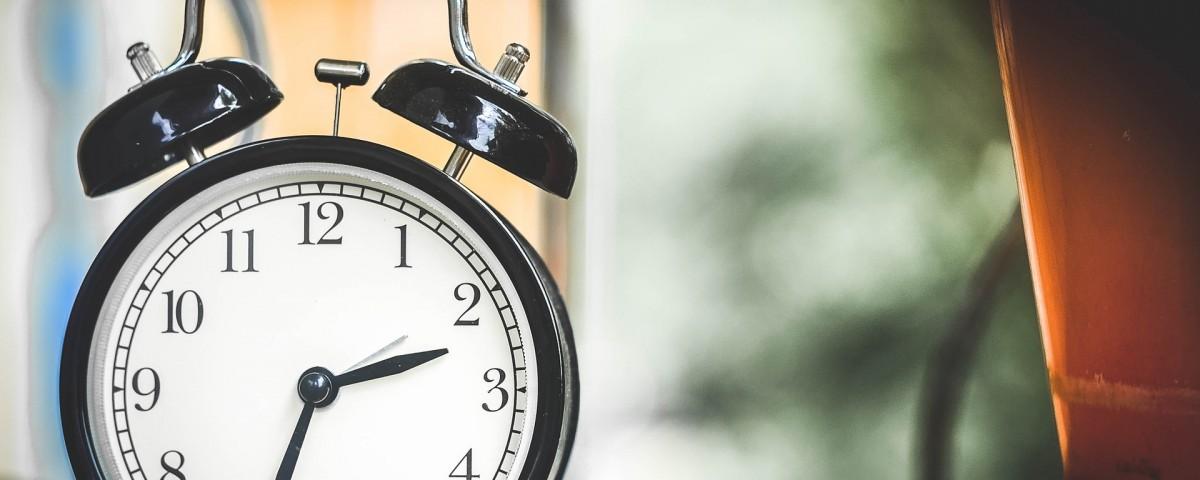 Reloj, periodos de limpieza